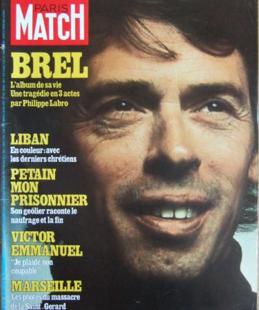 Paris match 20 octobre 1978