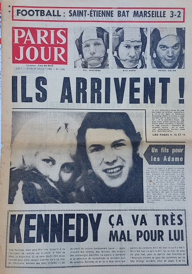 Journal Paris Jour 24/07/1969