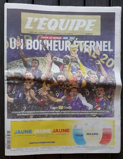 L'EQUIPE 2018 Collector