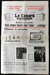 Journal LE CANARD ENCHAINE