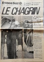 Journal France Soir du 14/11/1970