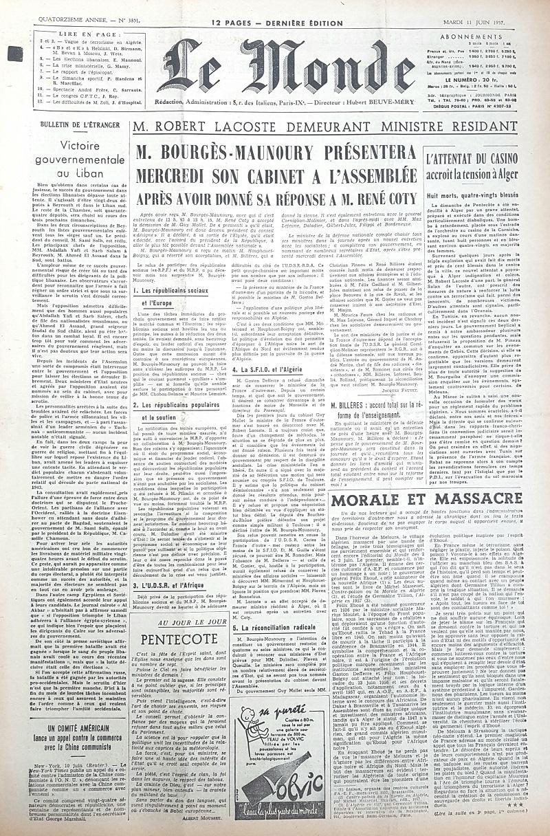 anniversaire du journal le monde