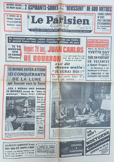 Journal original 23/07/1969