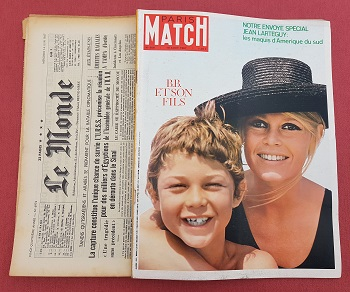 1950-1988 Journal et Paris-match