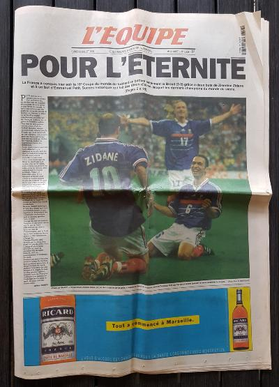 L'EQUIPE 1998 Collector