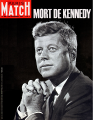 Paris match 30 novembre 1963