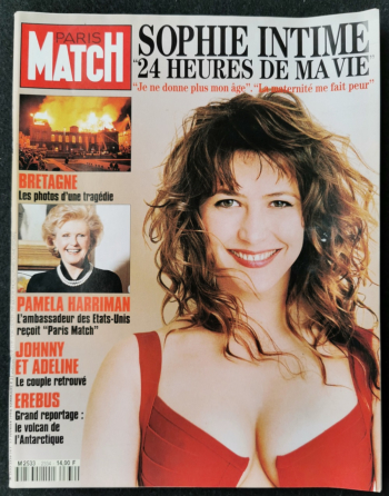 Paris-match anniversaire 1991 à 2018