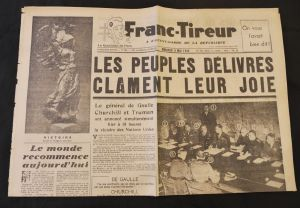 Journal Franc tireur 09/05/1945
