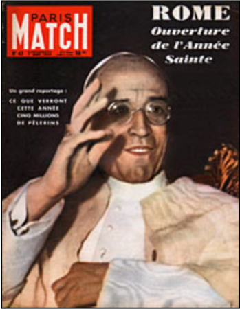 Paris Match anniversaire 1950